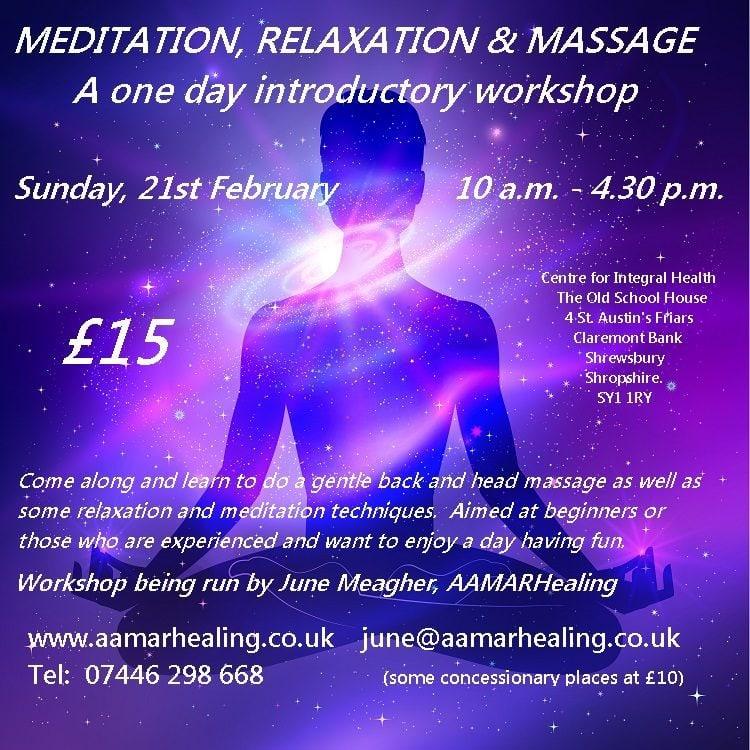 AAMARHealing Meditation Workshop.