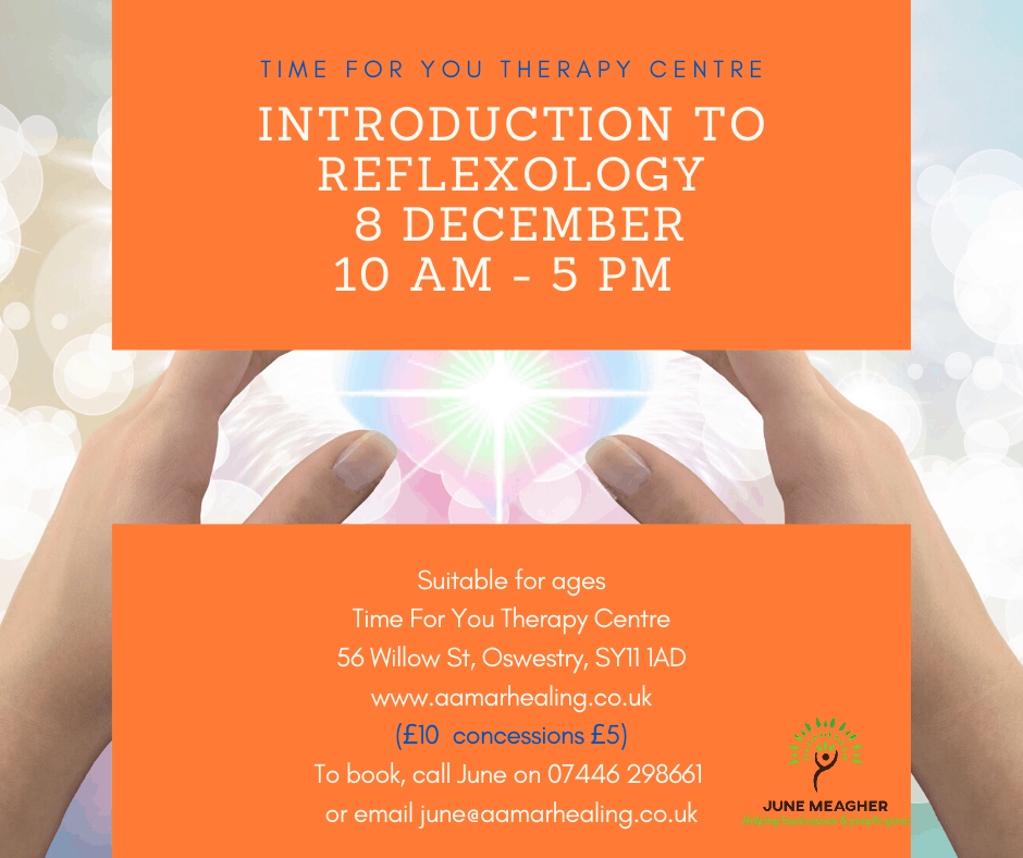 Poster for Introduction to Reflexology