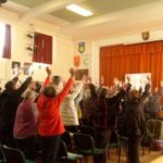Simon heather hands up workshop