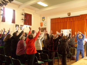 Simon heather hands up workshop