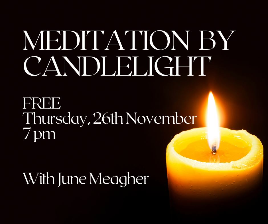 Free online meditation by candlelight